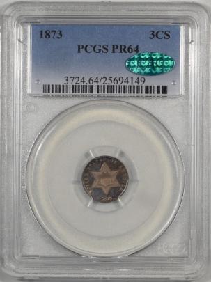 1873-3CS-PCGS-PR64-CAC-149-1