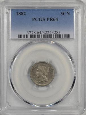 1882-3CN-PCGS-PR64-283-1
