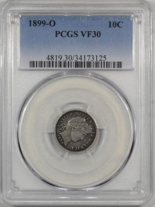 1899O-10C-PCGS-VF30-125-1