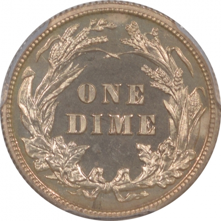 Barber Dimes 1904 PROOF BARBER DIME PCGS PR-64, ORIGINAL WHITE W/ GREAT POP!