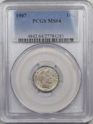 1907-10C-PCGS-MS64-283-1