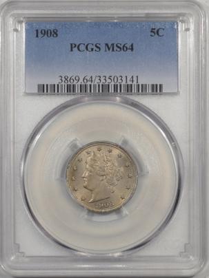 1908-5C-PCGS-MS64-141-1