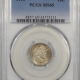 Barber Dimes 1914 BARBER DIME PCGS MS-63