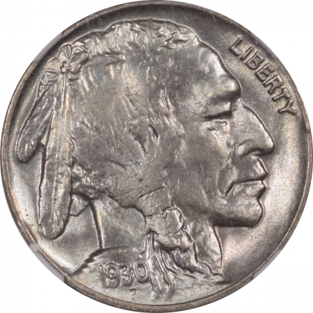 Buffalo Nickels 1930 BUFFALO NICKEL NGC MS-65 PREMIUM QUALITY!