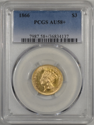 1866-$3G-PCGS-AU58+-137-1