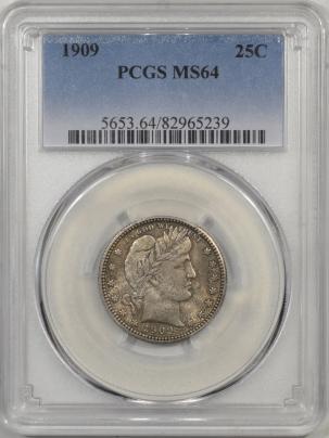 1909-25C-PCGS-MS64-239-1