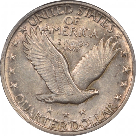 Standing Liberty Quarters 1917 STANDING LIBERTY QUARTER – TY II PCGS AU-55