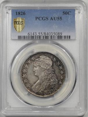 1826-50C-PCGS-AU55-089-1