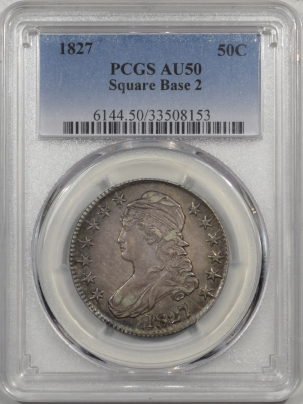 1827-50C-SQ-BASE-2-PCGS-AU50-153-1