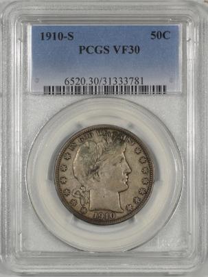 1910s-50C-PCGS-VF30-781-1