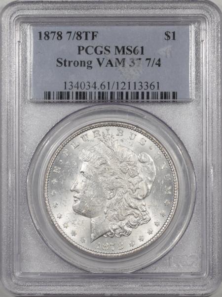 1878-78TF-$1-STRONG-VAM37-PCGS-MS61-361-1