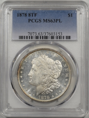 1878-8TF-$1-PCGS-MS63PL-153-1