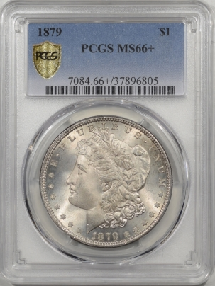 Morgan Dollars 1879 MORGAN DOLLAR PCGS MS-66+ FRESH!