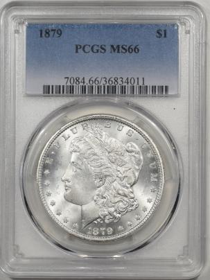 1879-$1-PCGS-MS66-011-1