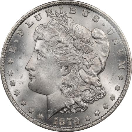 Morgan Dollars 1879 MORGAN DOLLAR PCGS MS-66