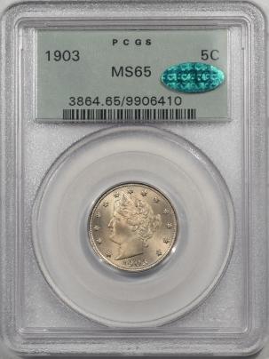 1903-5C-PCGS-MS65-CAC-410-1