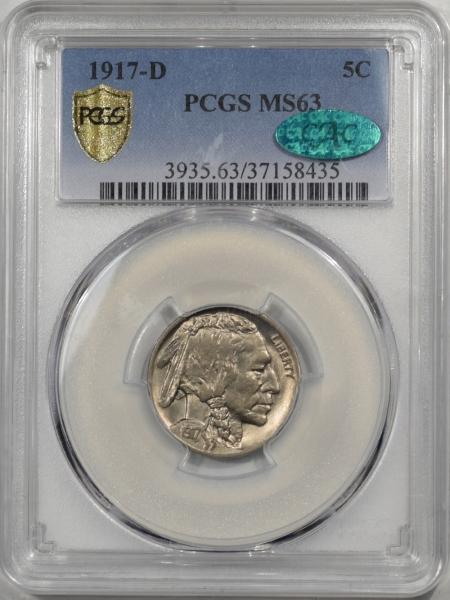 1917d-5C-PCGS-MS63-CAC-435-1