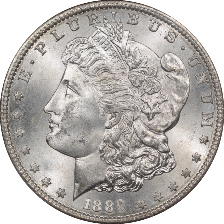 Morgan Dollars 1889-S MORGAN DOLLAR PCGS MS-65