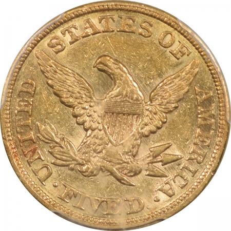 1856-$5G-PCGS-AU53-738-3