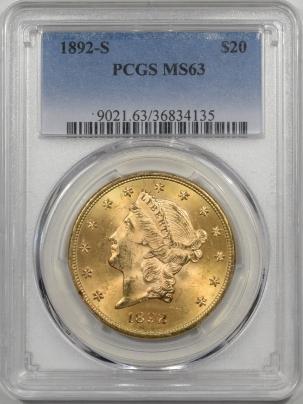 1892s-$20G-PCGS-MS63-135-1