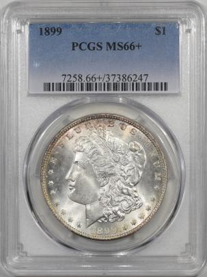 Morgan Dollars 1899 MORGAN DOLLAR PCGS MS-66+