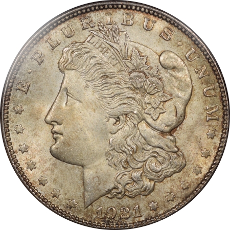 Morgan Dollars 1921-S MORGAN DOLLAR PCGS MS-66