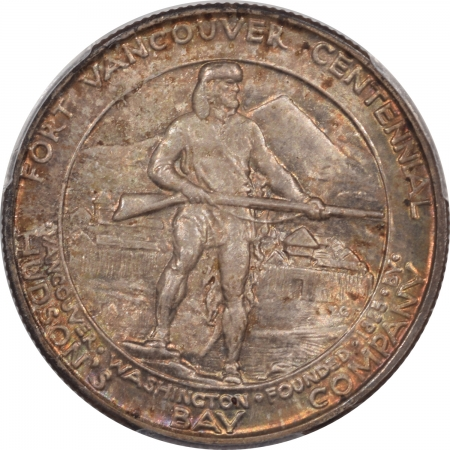 Silver 1925 VANCOUVER COMMEMORATIVE HALF DOLLAR PCGS MS-66