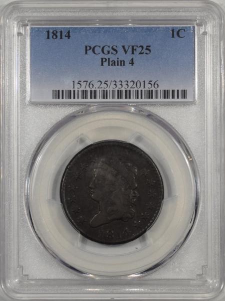 1814-1C-PLAIN4-PCGS-VF25-156-1