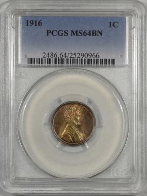 1916-1C-PCGS-MS64BN-966-1