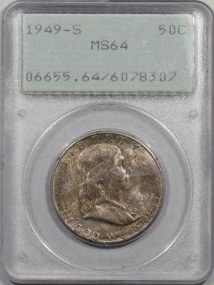 1949s-50C-PCGS-MS64-307-1