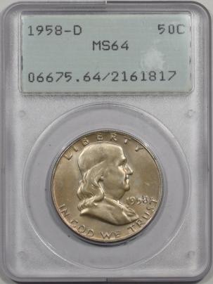 1958d-50C-PCGS-MS64-817-1