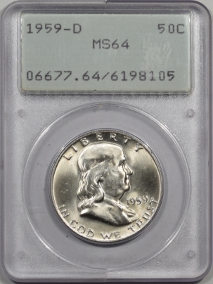 1959d-50C-PCGS-MS64-105-1