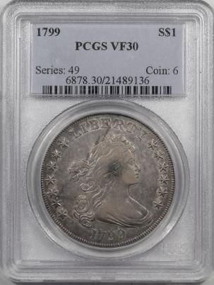 1799-$1-PCGS-VF30-136-1