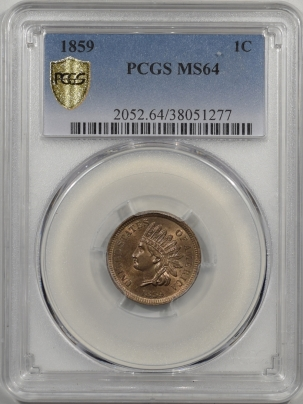 1859-1C-PCGS-MS64-277-1