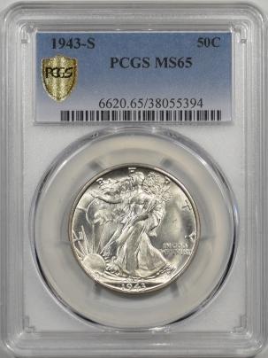 1943s-50C-PCGS-MS65-394-1