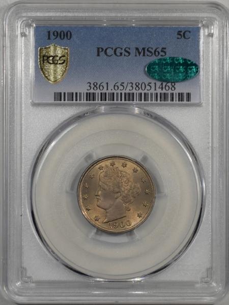 1900-5C-PCGS-MS65-CAC-468-1