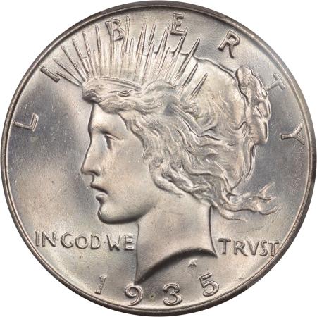 1935-$1-PCGS-MS65-CAC-293-2