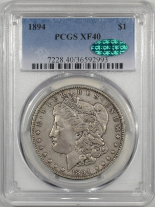 CAC Approved Coins 1894 MORGAN DOLLAR PCGS XF-40 CAC APPROVED!