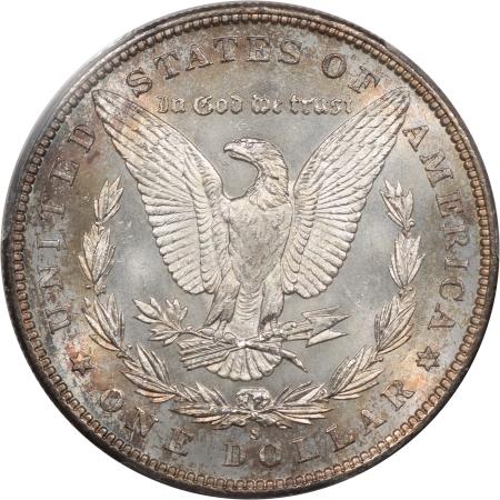 Morgan Dollars 1898-S MORGAN DOLLAR PCGS MS-64+FLASHY & PQ!