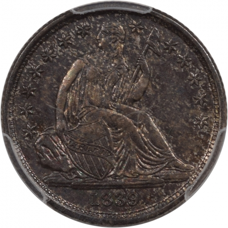 Coin World/Numismatic News Featured Coins 1839-O SEATED LIBERTY DIME – NO DRAPERY, PCGS AU-58