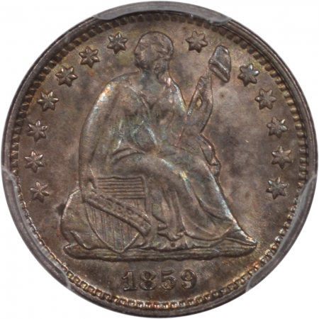 Liberty Seated Half Dimes 1859-O SEATED LIBERTY HALF DIME PCGS MS-63