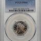 Coin World/Numismatic News Featured Coins 1866 SHIELD NICKEL – RAYS PCGS MS-64