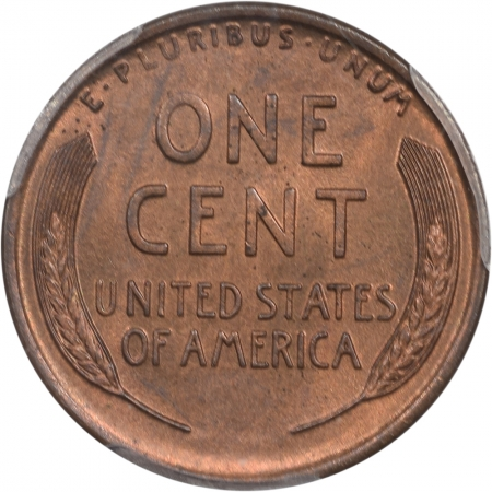 Lincoln Cents (Wheat) 1911-D LINCOLN CENT PCGS MS-65 RB
