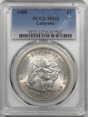 1900-LAFAYETTE-$1-PCGS-MS62-562-1