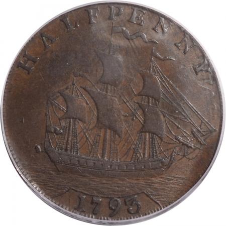 1793-H1P-WASH-SHIP-LE-PCGS-AU-55-CAC-572-3