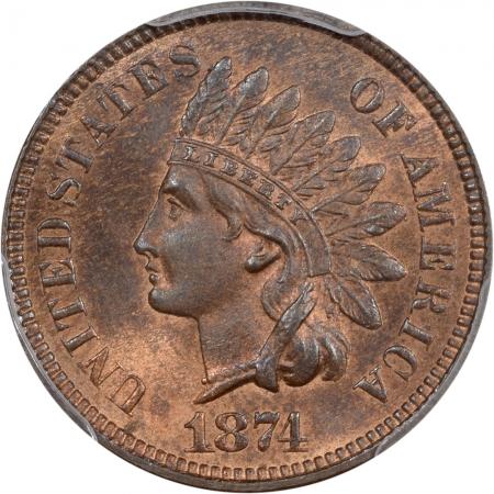 1874-1C-PCGS-MS65BN-CAC-144-2