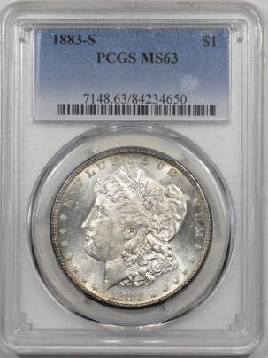 Coin World/Numismatic News Featured Coins 1883-S MORGAN DOLLAR PCGS MS-63