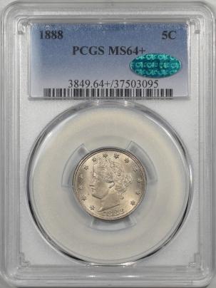 1888-5C-PCGS-MS64+-CAC-095-1