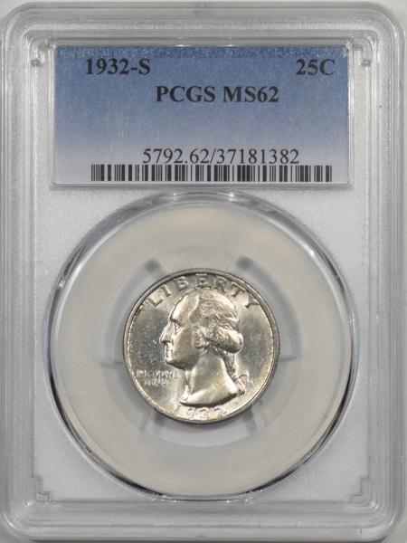 1932s-25C-PCGS-MS62-382-1