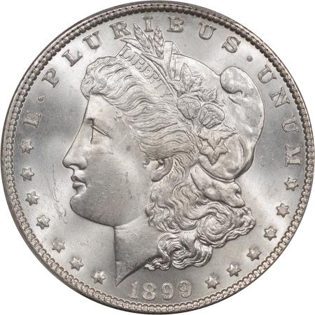 Morgan Dollars 1899 MORGAN DOLLAR PCGS MS-65+